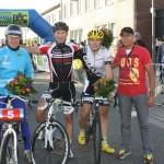 Bremen Siegerehrung Derny-Rennen